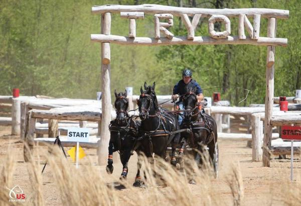 combined driving marsthon tryon test event