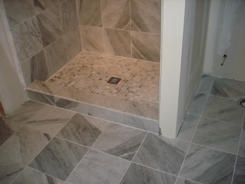 Marble Shower
