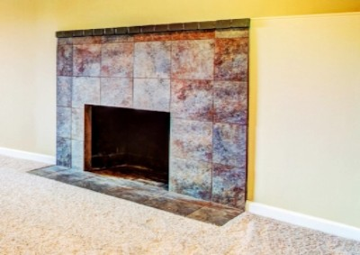 Porcelain Fire Place