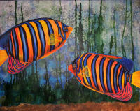 #fish #mixedmedia #painting