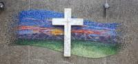 #cross #mural