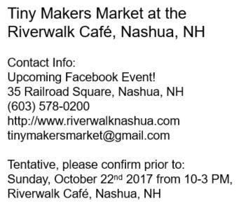 nashua new hampshire NH cafe coffee art artists handmade market shop shopping