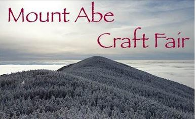 The Mount Abe Craft Fair logo photo of Mount Abraham in the winter.