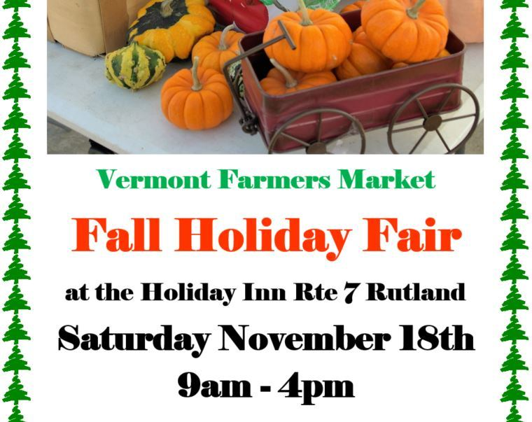 rutland vermont holiday craft sale show fair inn fall