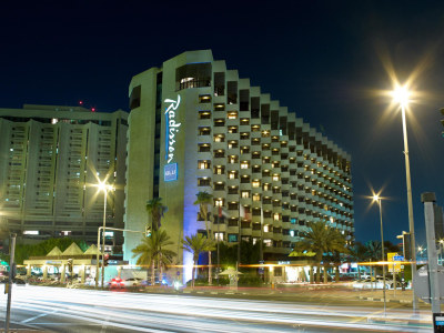 The Radisson Blu Dubai Deira Creek from the outside. Image: Radisson Blu