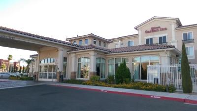 Entry of the Hilton Garden Inn Henderson
