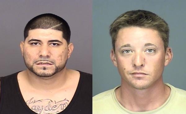 Detectives witness drug deal, arrest two