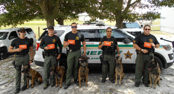 K-9 unit buys naloxone kits to prevent overdose deaths