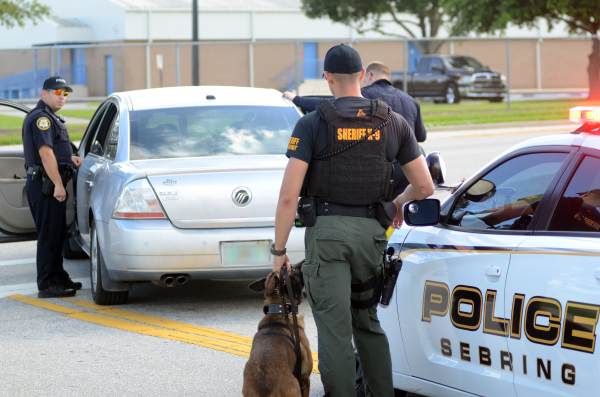 SPD, HCSO K-9 team up for drug arrest