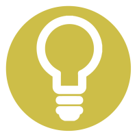 ingenious icon, light bulb