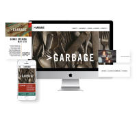 >Garbage Branding, logo, busienss cards, responsive website, event promotion