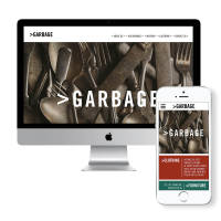 >Garbage Branding responsive website