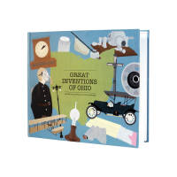 """Great Inventions of Ohio,"" A book written and illustrated to help teachers in Ohio educate their students about the inventions from their state."