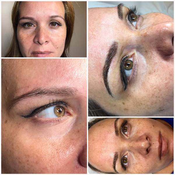 Microblading Eyebrows by Marvelous Brows