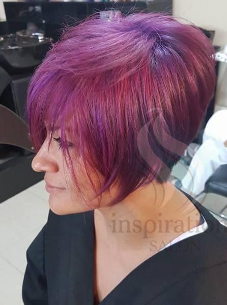 Tinte violeta