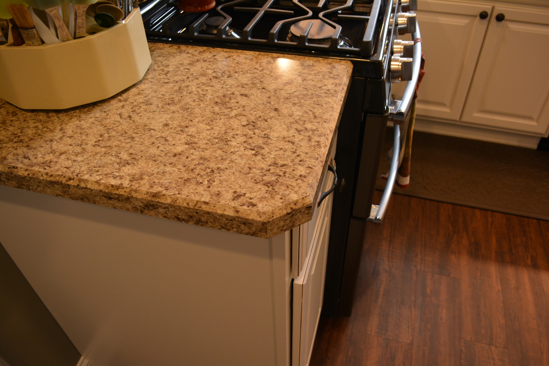 Showplace Covington- Soft Creme W/ Walnut Glaze