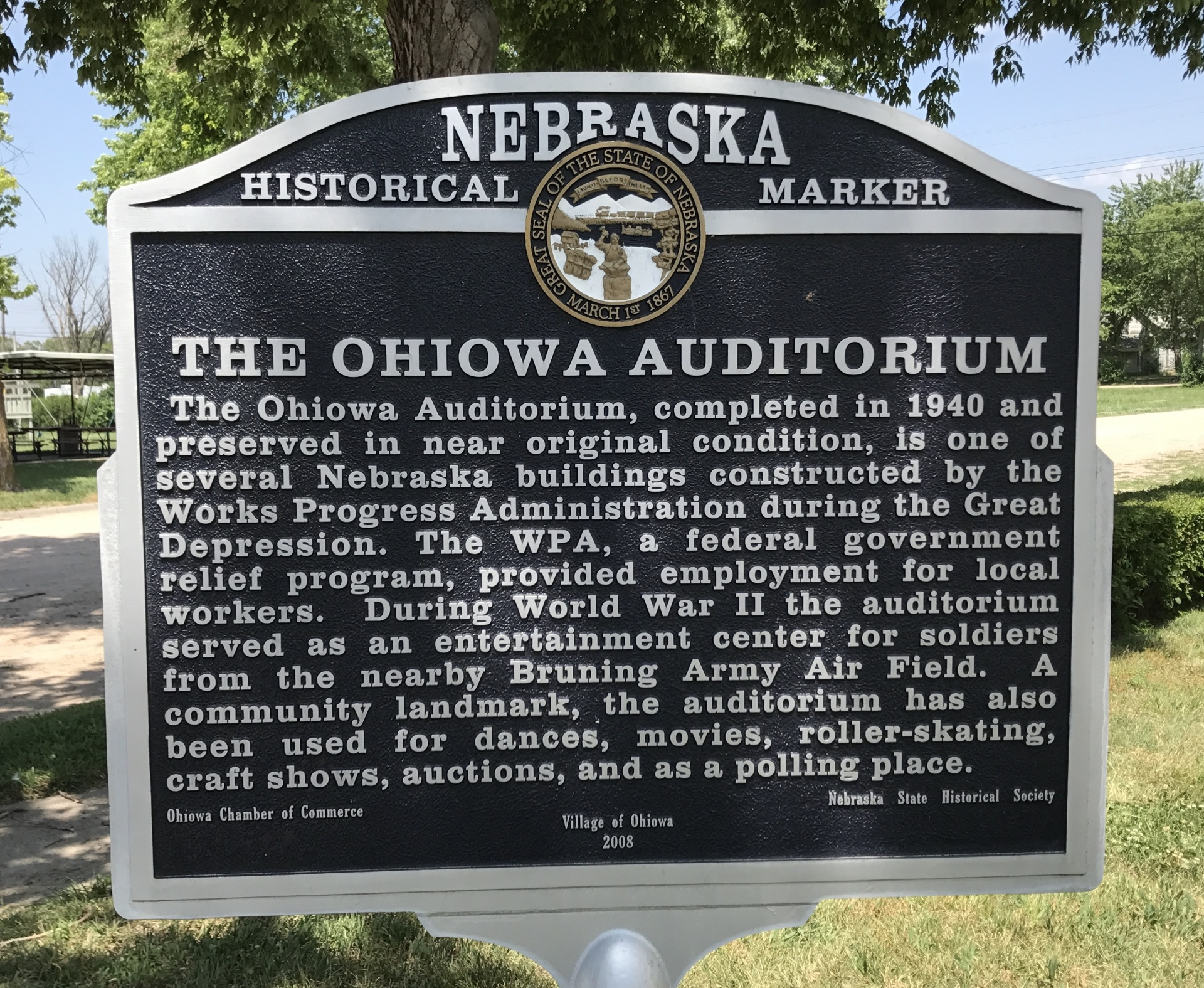 Ohiowa Auditorium - S Main St