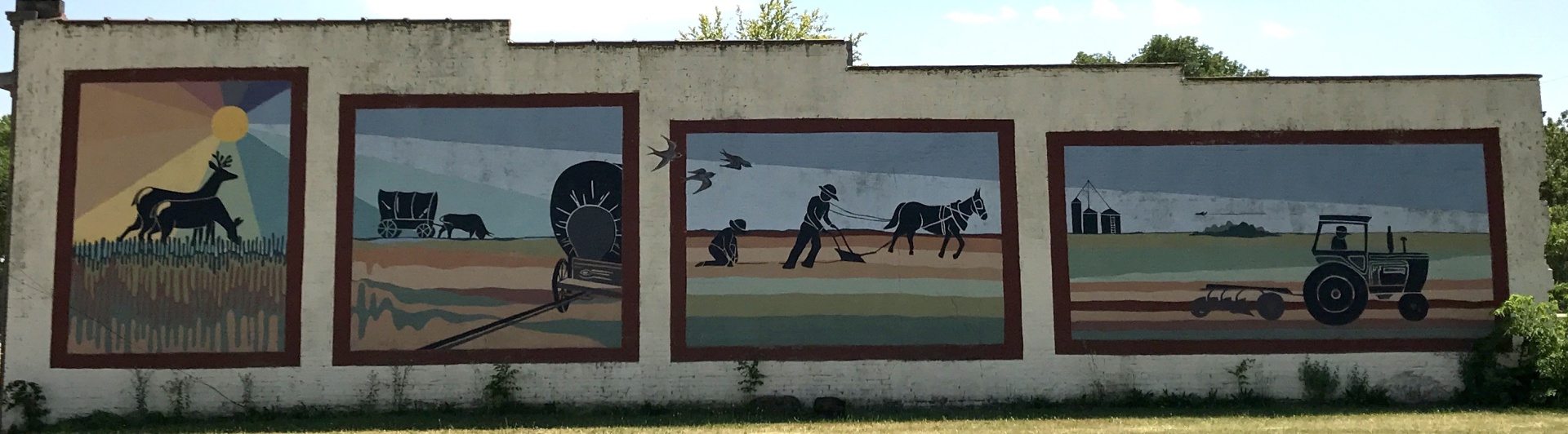 Franklin Township Building Mural
