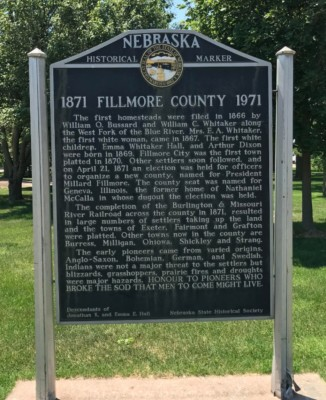Fillmore County Courthouse - 900 G St, Geneva