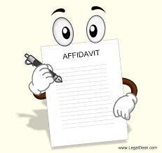 Preschool Affadavit