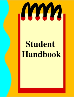 Read and sign student handbook.