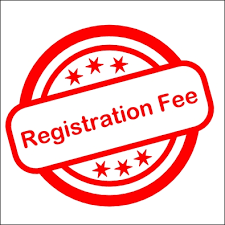 Pay registration fee.