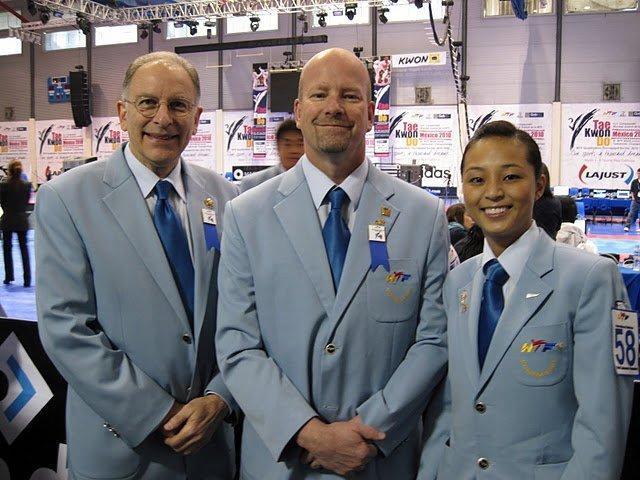 Richard Sacks, John Seiber and Anne Ku at World Juniors in Mexico