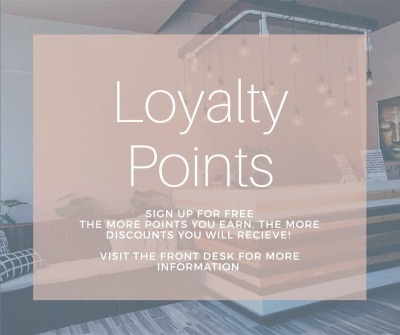 YOUR LOYALTY MATTERS!