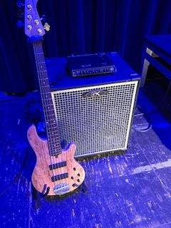 Lakland Bass & Gallien Krueger Amps