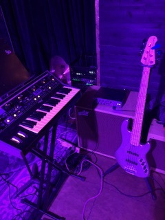 Lakland Bass and Moog