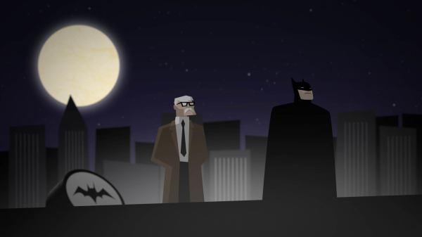Batman & Commissioner Gordon