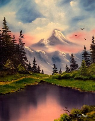 Majestic Mountains - by Ray Naso