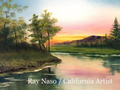 Summer Landscape - by Ray Naso