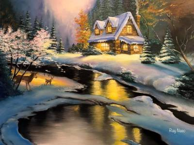 Deer Creek Cottage - by Ray Naso