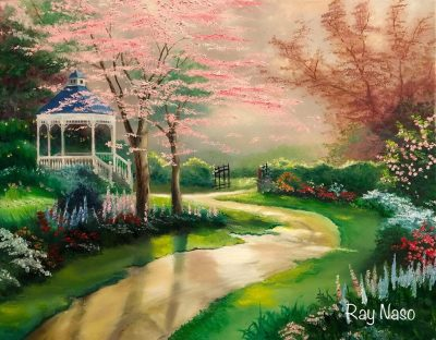 Dogwood Morning - by Ray Naso