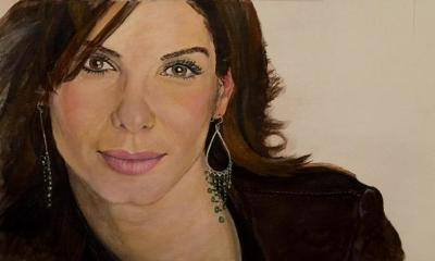 Sandra Bullock - by Ray Naso