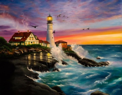 Portland Head Lighthouse - by Ray Naso