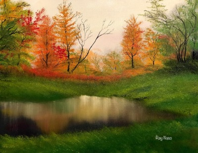 Autumn Landscape - by Ray Naso