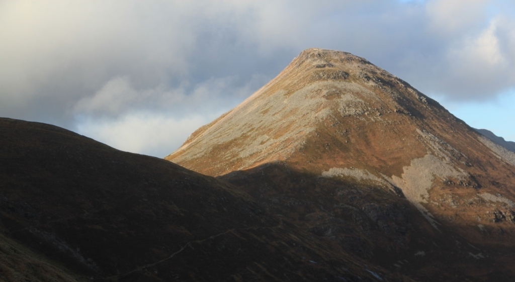 Stalkers paths in the Mamores