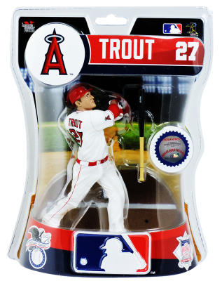 Mike Trout 2017 Imports Dragon Figure Angels