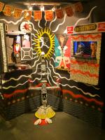 #installation #champoy #thehive #losangeles #focusfocus #puppets #reclaimedmaterials #sarcasm #thehivestudiosandgallery #dtla #artwalk