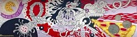 #twobootspizza #dtla #losangeles #pizza #mural #inatallation #filipinoamericanartist #filiamart #losangelesartist #champoy #champchampchampoy