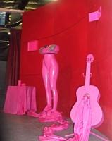 #pinksnotdead #guitar #boombox #mateo #diplomaticboner #cocaine #installationartist #losangeles #warehouseshow #dtla #fuckgentrification #filipinoamericanartist #filiamart #losangelesartist #champoy #champchampchampoy