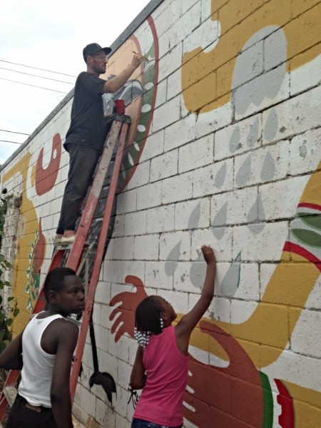 Champrita Mural (Baltimore)