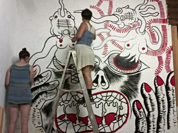 Freak Out Mural (LA Fort)