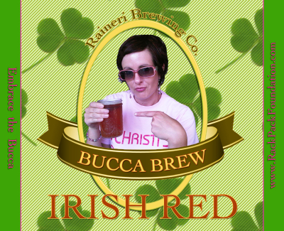 Bucca Brew Beer labe