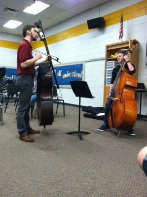 Double Bass Lessons with Rich