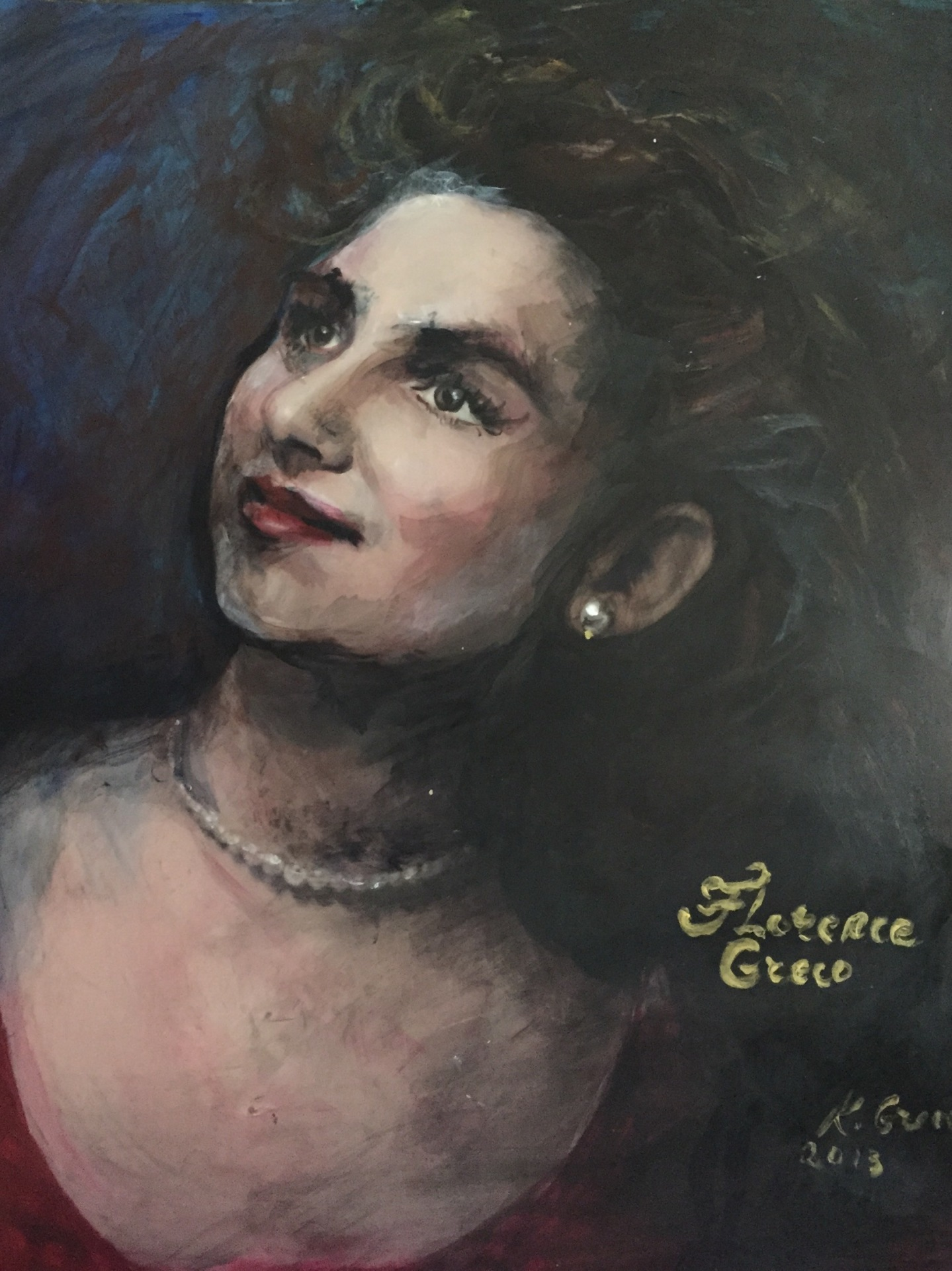 """Florence Greco"" The Matriarch 80th Birthday Gift"