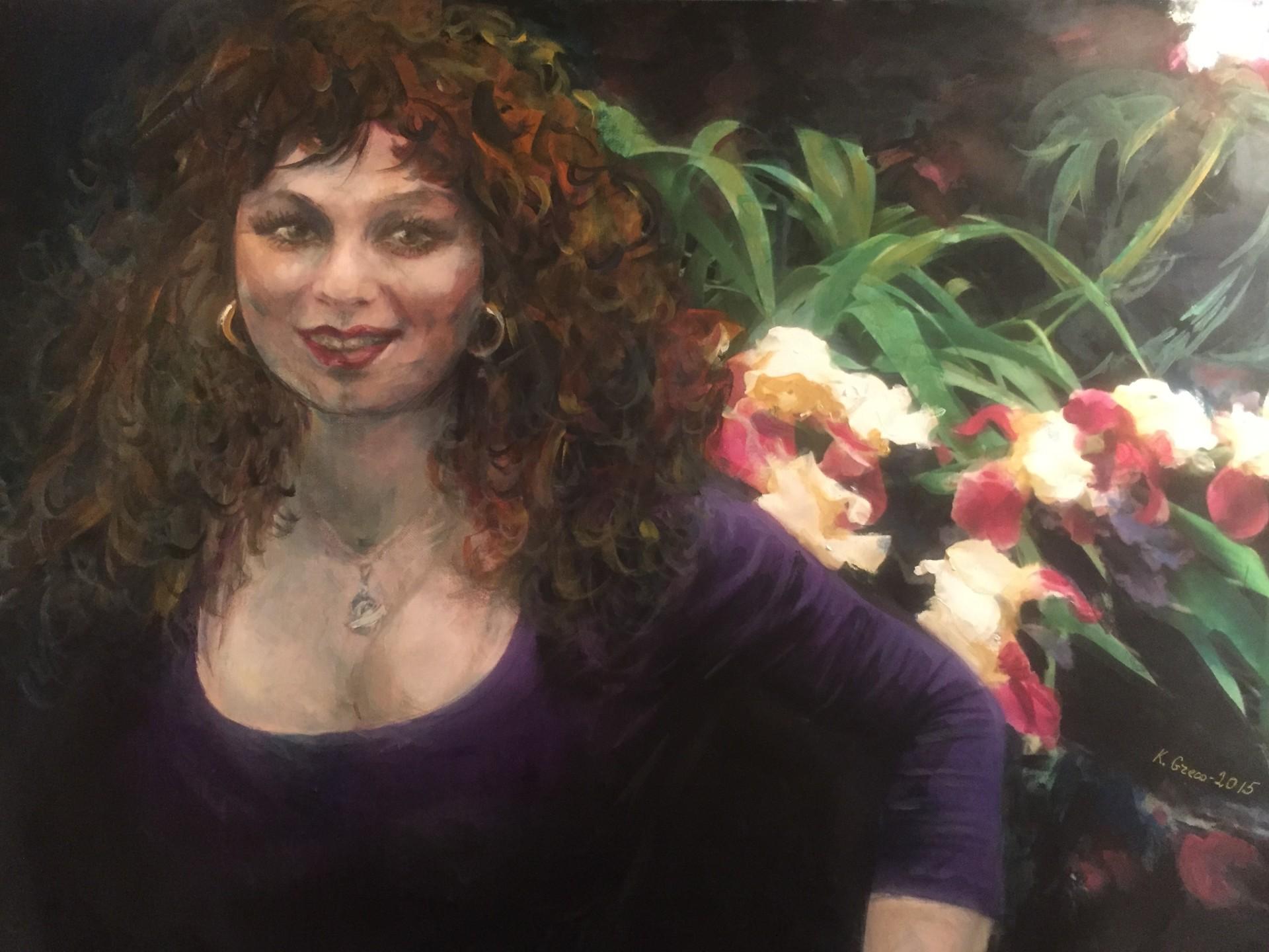 """Self Portrait"" Celebrating Life"