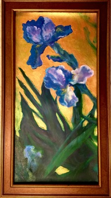 Blue Iris- Private Collection